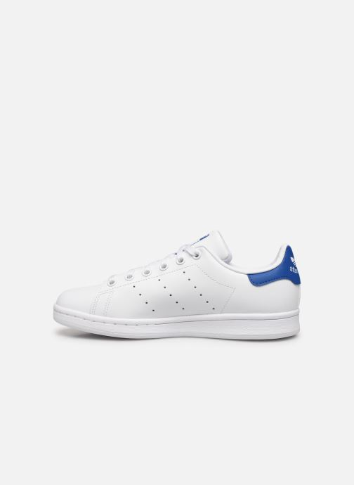 Sneakers adidas originals STAN SMITH J Wit voorkant