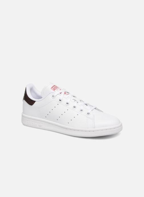 meet 56d85 07771 Baskets adidas originals STAN SMITH J Blanc vue détail paire