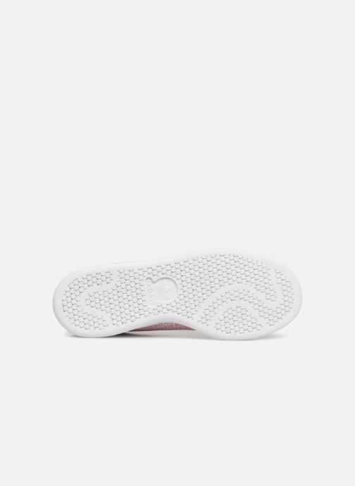 Sneakers adidas originals STAN SMITH J Rosa bild från ovan