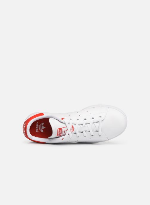 Sneaker adidas originals STAN SMITH J weiß ansicht von links