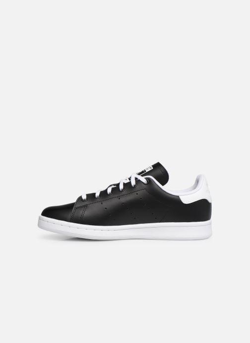 Sneakers adidas originals STAN SMITH J Zwart voorkant