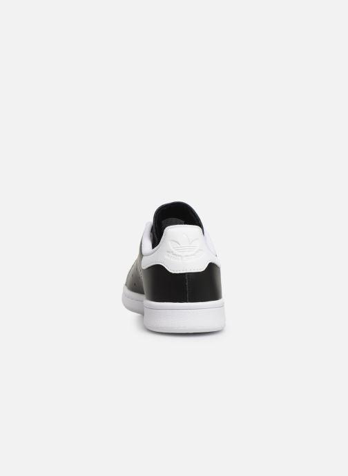 Sneakers adidas originals STAN SMITH J Zwart rechts