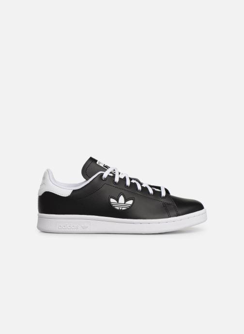 Sneakers adidas originals STAN SMITH J Zwart achterkant