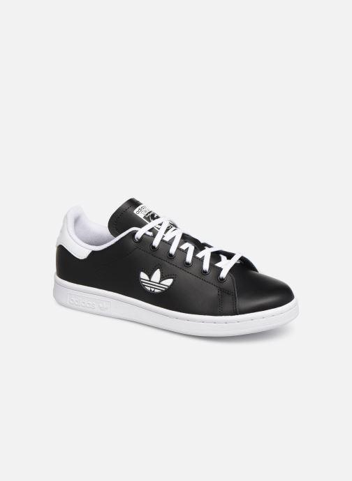 Sneakers adidas originals STAN SMITH J Zwart detail