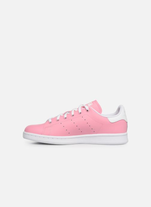 Sneakers adidas originals STAN SMITH J Roze voorkant