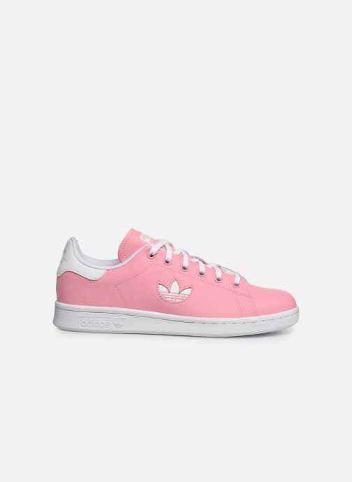 Sneakers adidas originals STAN SMITH J Roze achterkant