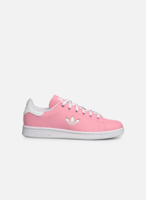 Trainers adidas originals STAN SMITH J Pink back view