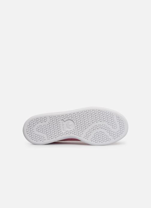Sneakers adidas originals STAN SMITH J Roze boven