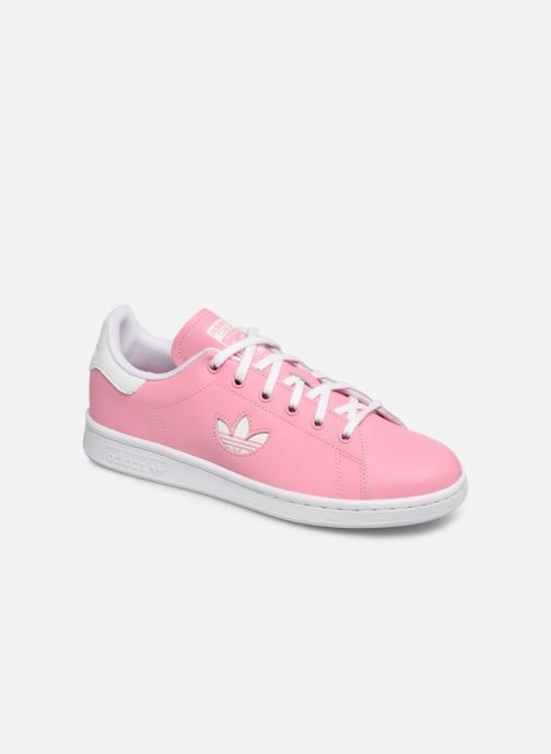Trainers adidas originals STAN SMITH J Pink detailed view/ Pair view