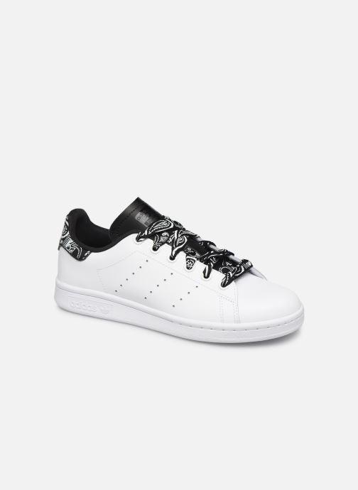 adidas originals STAN SMITH J (Blanc) Baskets chez Sarenza