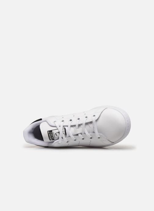 Sneakers adidas originals STAN SMITH J Wit links