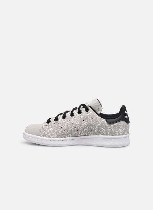 Sneakers adidas originals STAN SMITH J Grijs voorkant