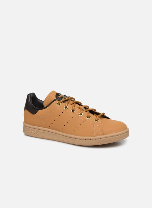 Trainers adidas originals STAN SMITH J Brown detailed view/ Pair view