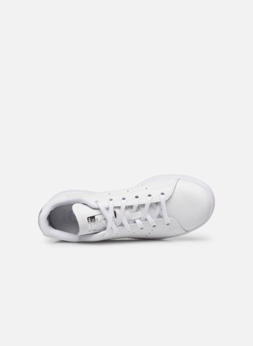 Baskets adidas originals STAN SMITH J Blanc vue gauche