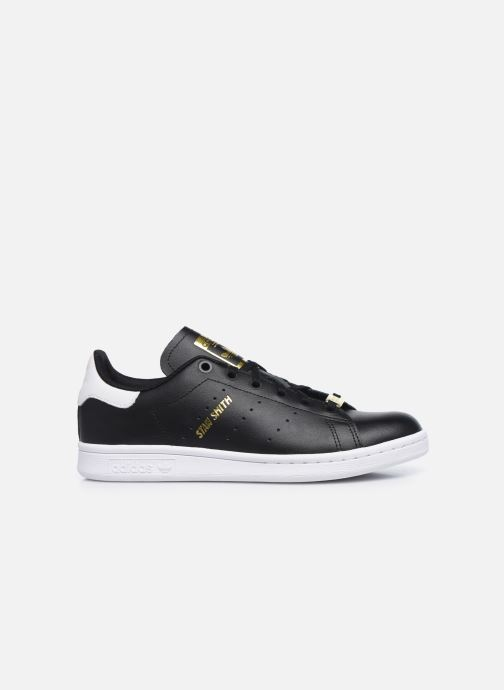 Baskets adidas originals STAN SMITH J Noir vue derrière