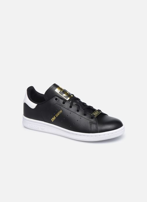 Baskets adidas originals STAN SMITH J Noir vue détail/paire