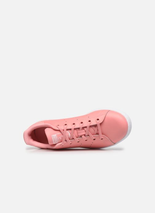 Sneakers adidas originals STAN SMITH J Rosa immagine sinistra