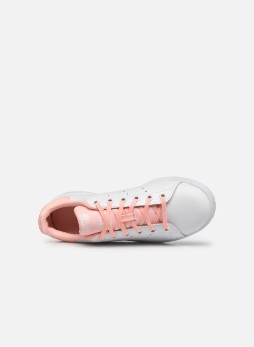 Sneakers adidas originals STAN SMITH J Bianco immagine sinistra
