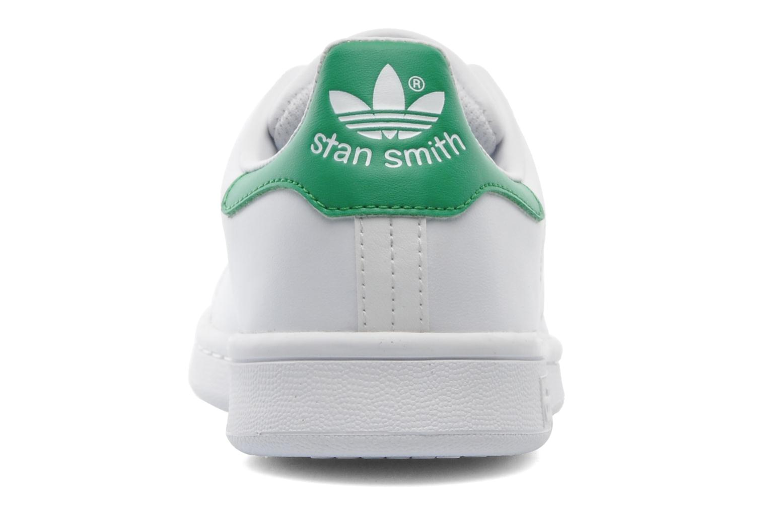 Sneakers Adidas Originals STAN SMITH J Wit rechts