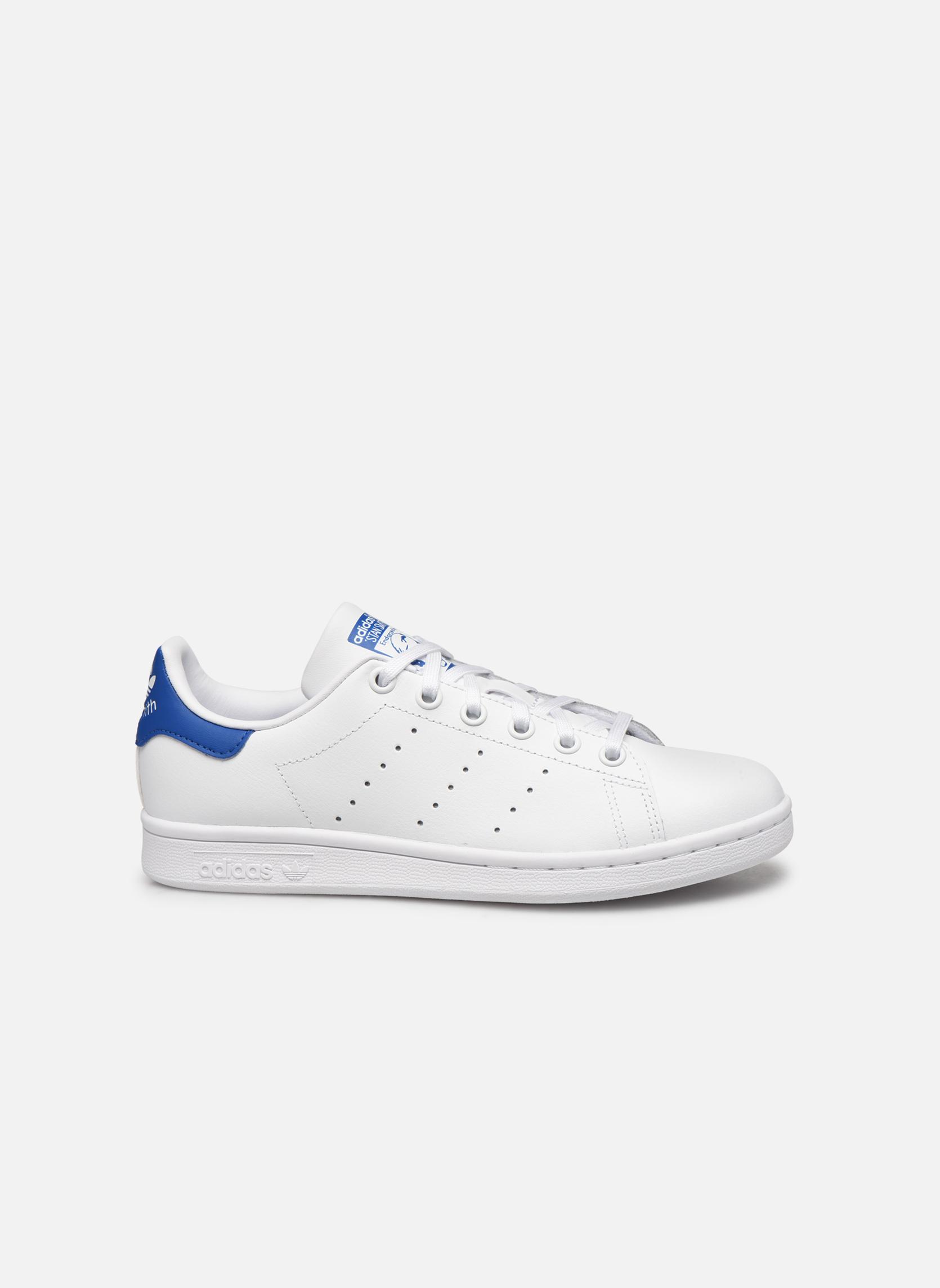 Baskets Adidas Originals STAN SMITH J Blanc vue derrière