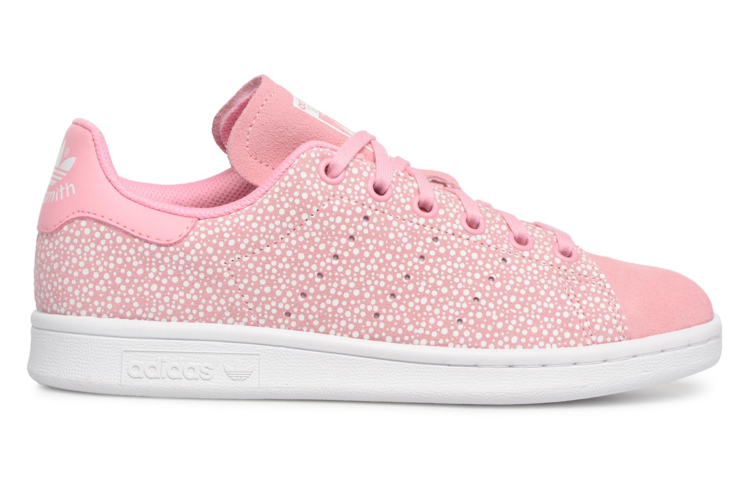 Baskets Adidas Originals STAN SMITH J Rose vue derrière