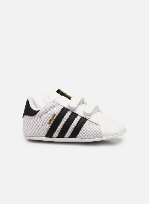Trainers Adidas Originals SUPERSTAR CRIB White back view