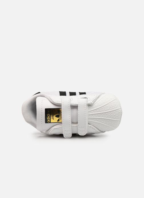 Sneakers adidas originals SUPERSTAR CRIB Bianco immagine sinistra