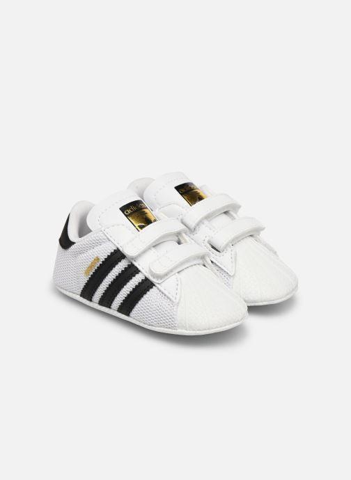 eb169ca3831 adidas originals SUPERSTAR CRIB (Wit) - Sneakers chez Sarenza (286543)