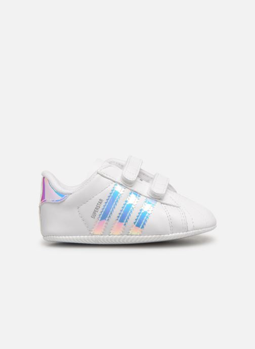 Baskets adidas originals SUPERSTAR CRIB Blanc vue derrière
