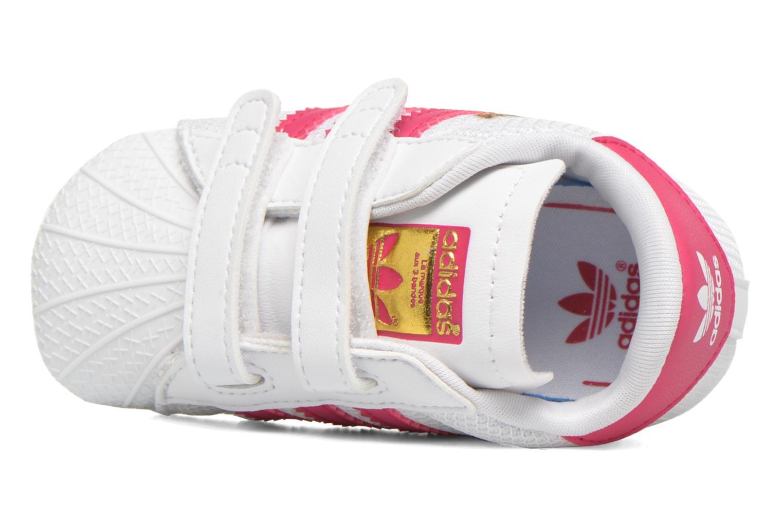 Sneakers Adidas Originals SUPERSTAR CRIB Wit links