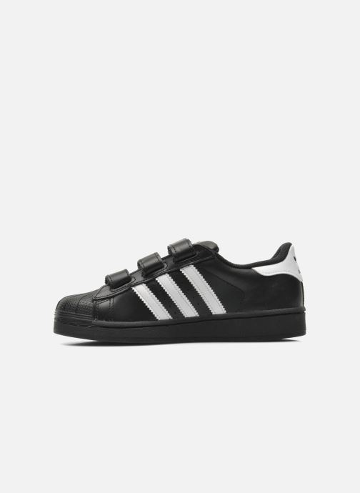 Deportivas adidas originals Superstar Foundation Cf C Negro vista de frente