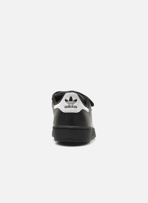 Sneakers adidas originals Superstar Foundation Cf C Zwart rechts