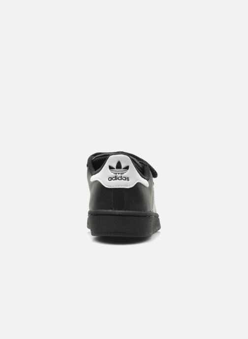 Deportivas adidas originals Superstar Foundation Cf C Negro vista lateral derecha
