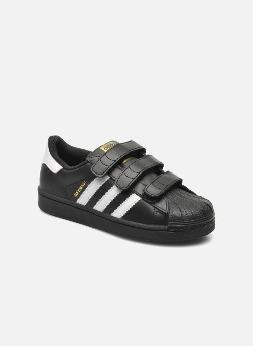 Deportivas adidas originals Superstar Foundation Cf C Negro vista de detalle / par