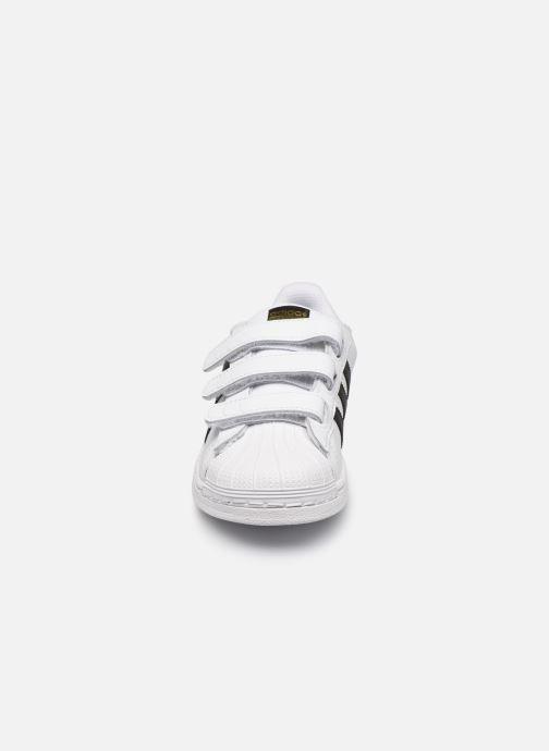 Sneaker adidas originals Superstar Foundation Cf C weiß schuhe getragen