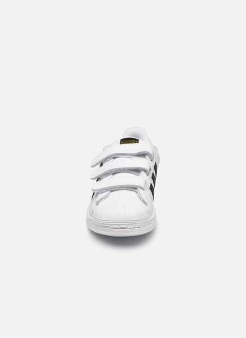 Sneakers adidas originals Superstar Foundation Cf C Bianco modello indossato