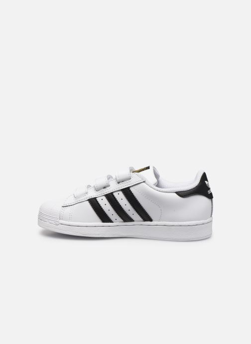 Baskets adidas originals Superstar Foundation Cf C Blanc vue face
