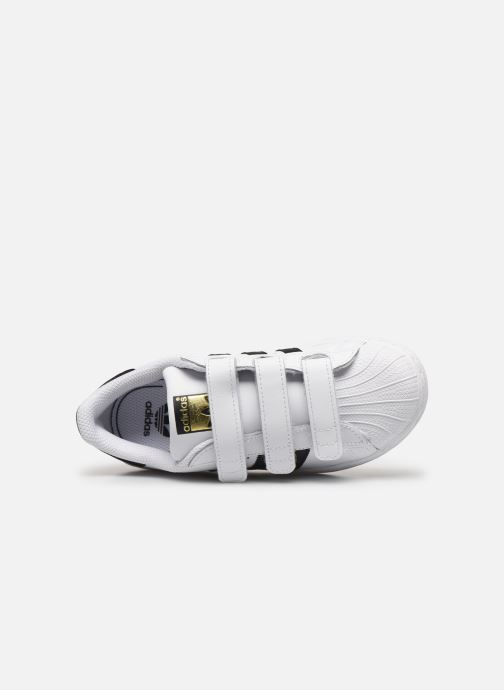 Baskets adidas originals Superstar Foundation Cf C Blanc vue gauche