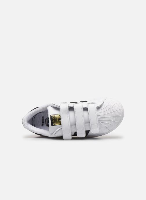 Baskets adidas originals Superstar Foundation Cf C Blanc vue gauche