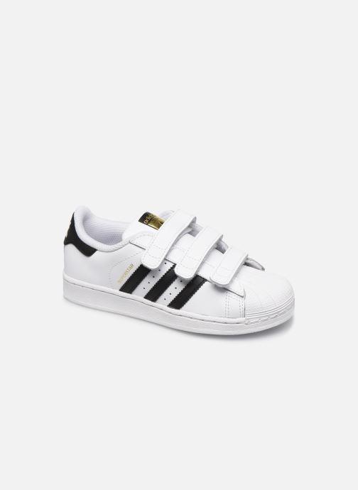 Baskets adidas originals Superstar Foundation Cf C Blanc vue détail/paire