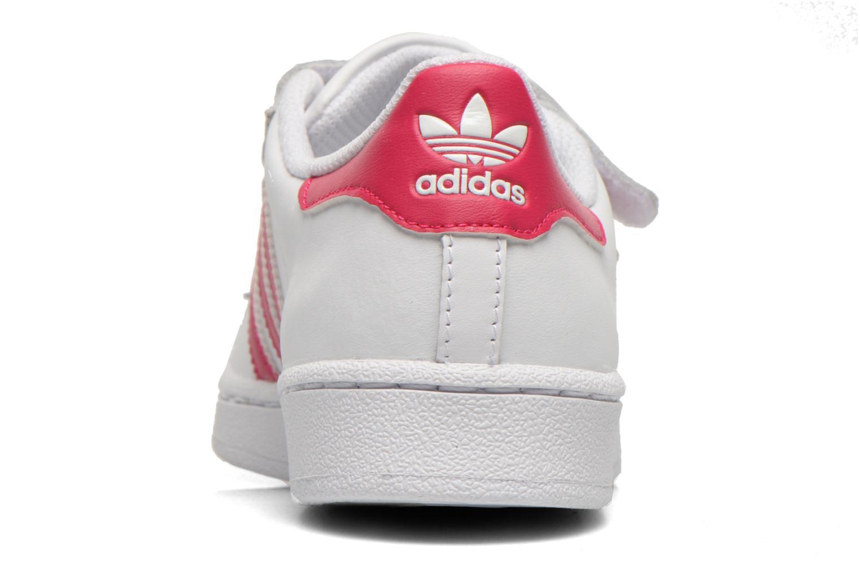 Sneakers Adidas Originals Superstar Foundation Cf C Wit rechts