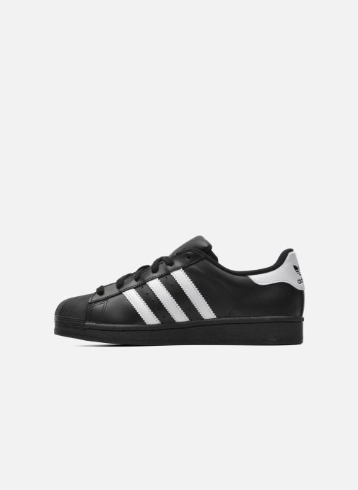 Sneakers adidas originals Superstar Foundation J Zwart voorkant