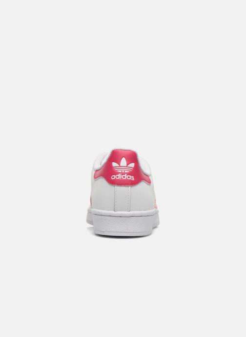 new concept 23264 292a8 Sneakers Adidas Originals Superstar Foundation J Bianco immagine destra