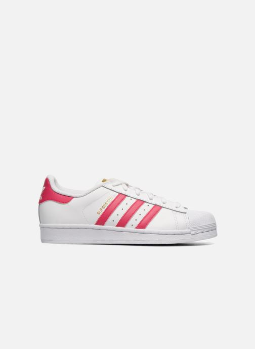 Sneaker adidas originals Superstar Foundation J weiß ansicht von hinten