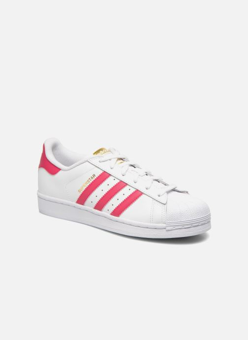 Sneakers adidas originals Superstar Foundation J Wit detail