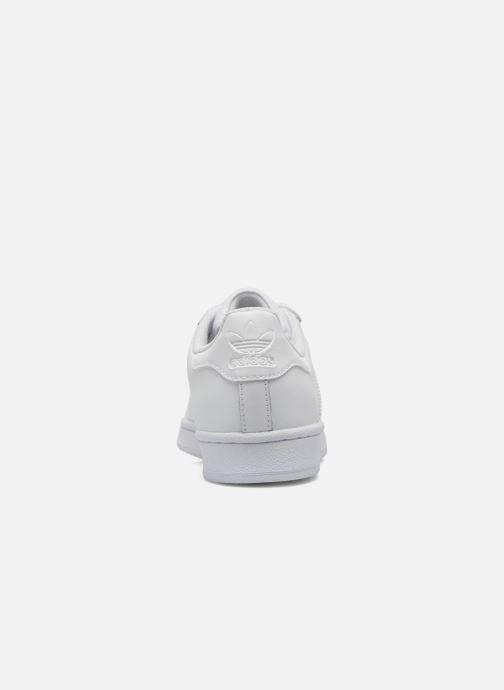 Baskets adidas originals Superstar Foundation J Blanc vue droite