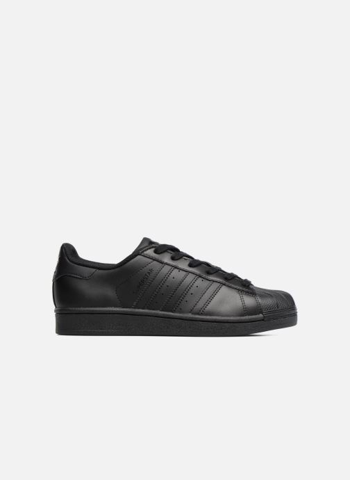 Baskets adidas originals Superstar Foundation J Noir vue derrière