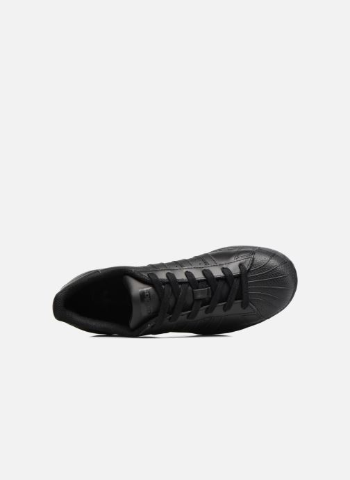 Baskets adidas originals Superstar Foundation J Noir vue gauche