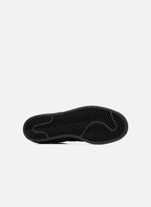 Baskets adidas originals Superstar Foundation J Noir vue haut