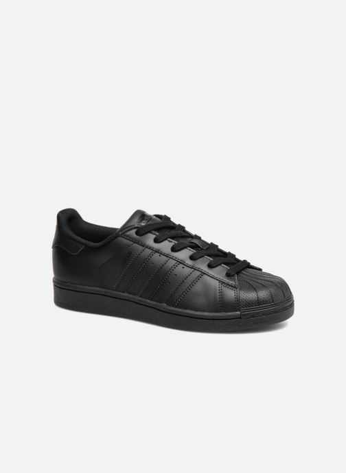 Trainers adidas originals Superstar Foundation J Black detailed view/ Pair view
